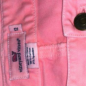 Vineyard Vines Pink Skinny Jeans Size 12